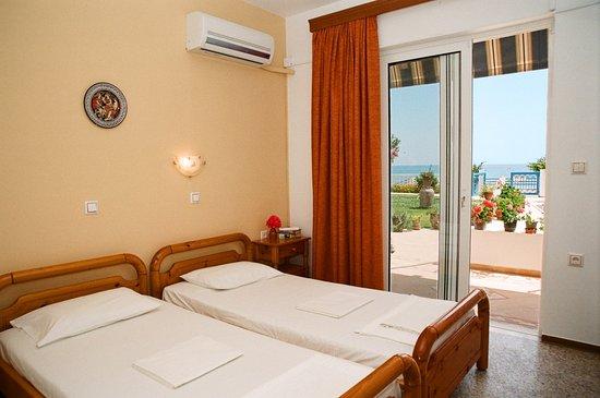 Archangelos, Grecja: Bedroom ground floor