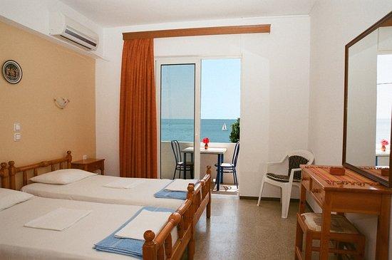 Archangelos, Grecja: Bedroom top floor