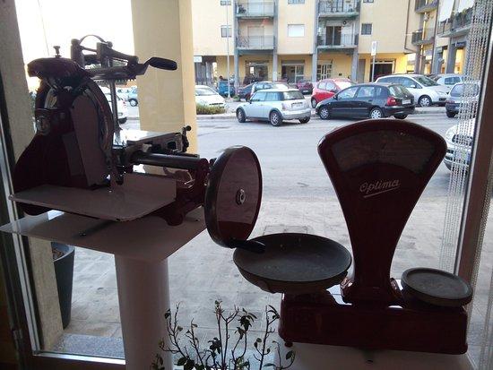 Floridia, Italia: attrezzatura in esposizione