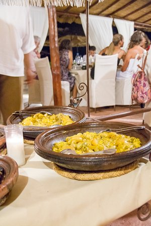 Lalla Takerkoust, Morocco: All guests loved the food