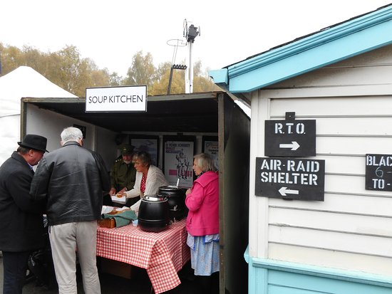 Pickering, UK: Soup Kitchen at Grosmont.