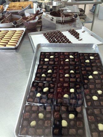 Paihia, New Zealand: Chocolate heaven