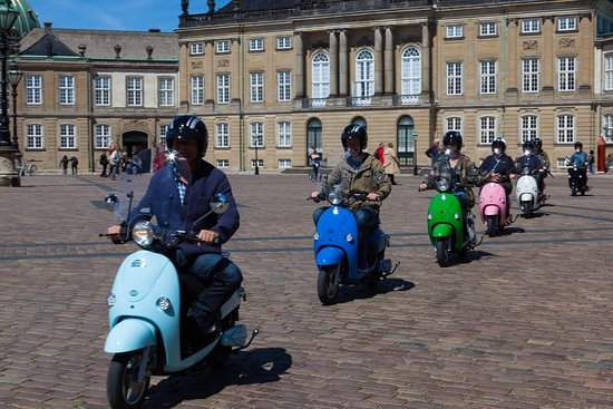 Copenhagen E scooter tours