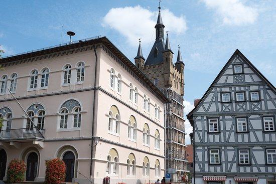 Bad Wimpfen, Almanya: 市庁舎と青の塔