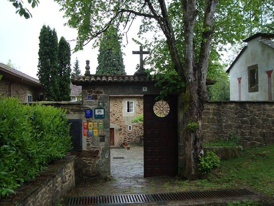 Lavacolla, España: Entrada al Pazo