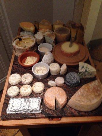 L'Isle-d'Abeau, ฝรั่งเศส: plateau de fromages
