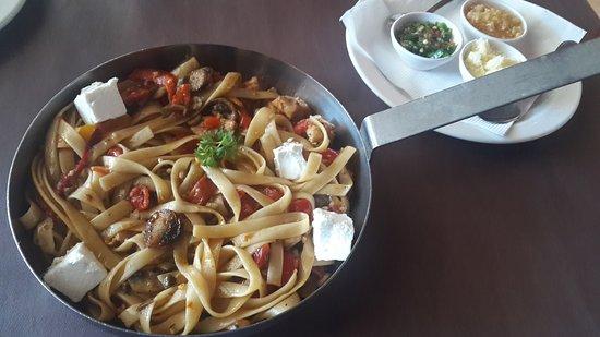 Westville, Sydafrika: Delicious Pasta