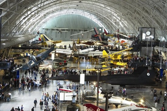 Sterling, Virginie : Air And Space Museum Udvar Hazy Center