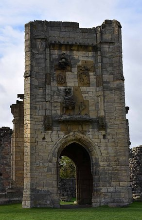 Warkworth, UK: Lion Tower