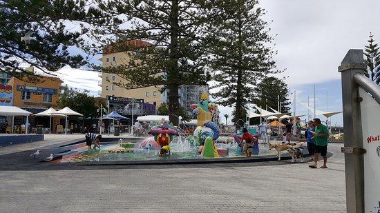 The Entrance, Australië: Parque acuatico infantil