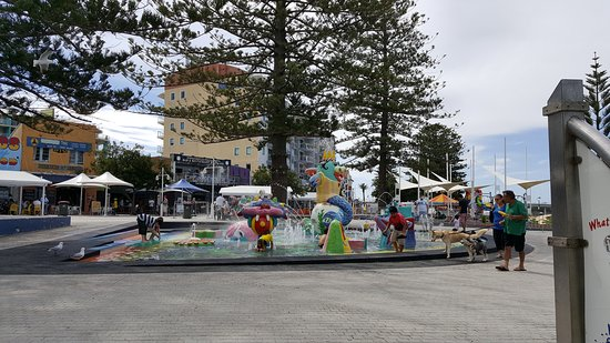 The Entrance, Australia: Parque acuatico infantil