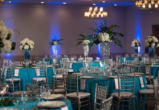 Renaissance Boca Raton Hotel: Coral Ballroom Social Setup