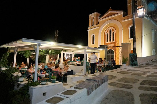 Ioulis, Greece: August 2014