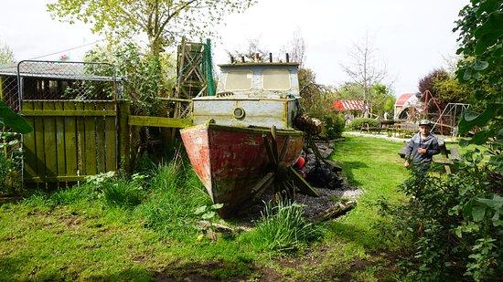 Invercargill, Nouvelle-Zélande : Boat