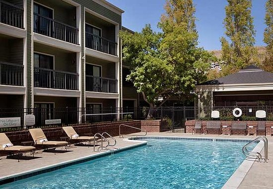 Larkspur, Калифорния: Outdoor Pool