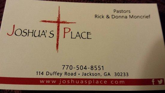 Jackson, GA: Joshua's Place Church