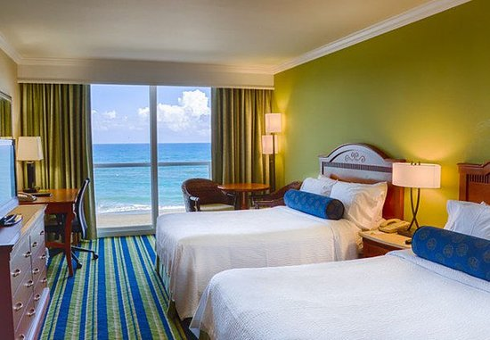 Jensen Beach, Flórida: Double/Double Oceanfront Guest Room