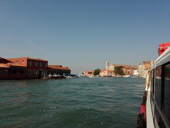 Lido di Venezia, إيطاليا: Stadtansicht vom Vaporetto