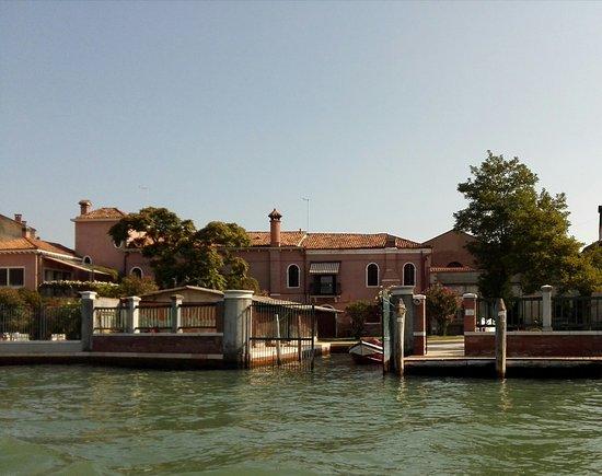 Lido di Venezia, Włochy: Wassergarage auf Murano