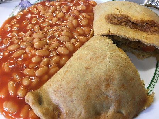 Tring, UK: Top veggie pastie!!