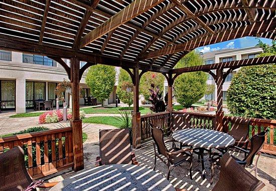 Wall Township, NJ: Outdoor Gazebo Seating Area