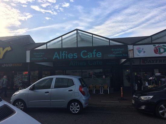 Antrim, UK: Alfie's Cafe