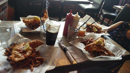 Brits Fish and Chips: fish and chips