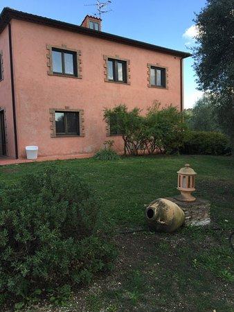Montemerano, Italia: la casa con le stanze