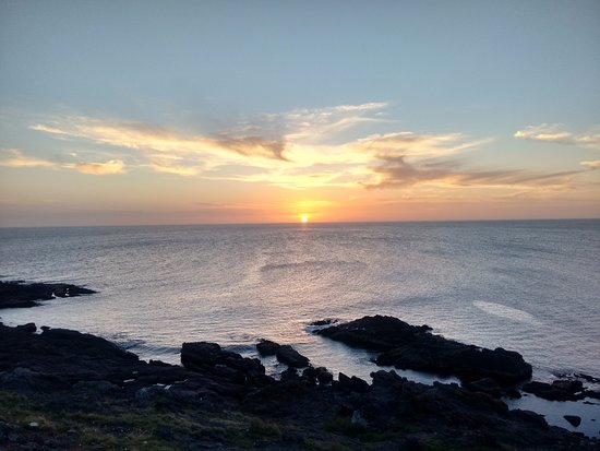 Punta Ballena, Ουρουγουάη: Pôr-do-sol