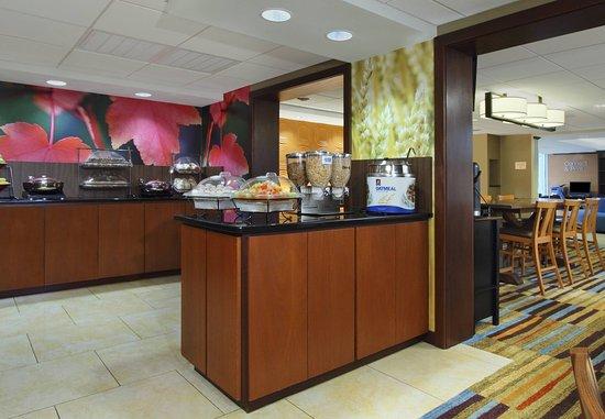Fairfield Inn Portland Maine Mall: Breakfast Buffet