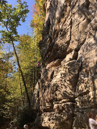 Pine Ridge, KY: Kentucky Rock & Adventure Guides