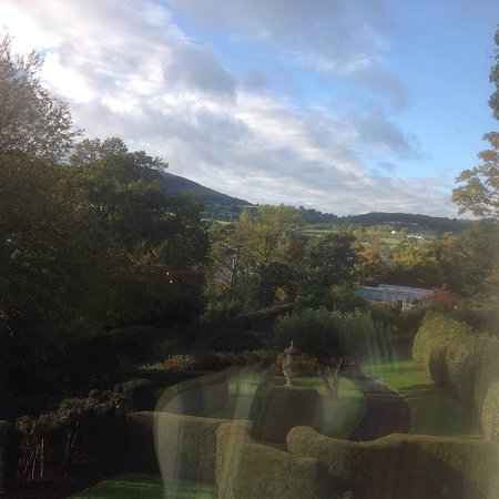 """Pooley Bridge, UK: Views within Garden Room """"Grace"""" and views from that rooms windows"""