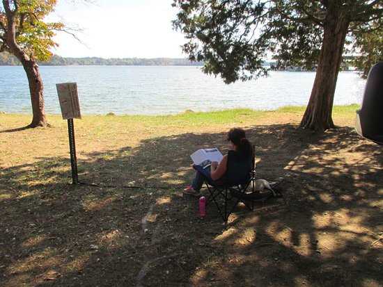 Reading at Lenoir City Park