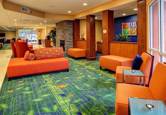 Fletcher, Carolina del Norte: Lobby Seating Area