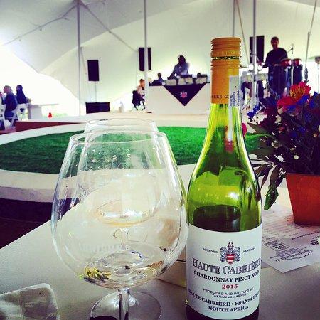 Franschhoek, África do Sul: Das Weingut zum Weinfest