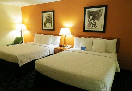 Mount Vernon, Ιλινόις: Queen/Queen Guest Room