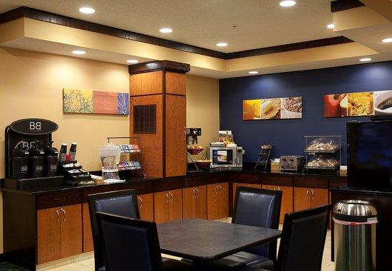 Bourbonnais, IL: Breakfast Area