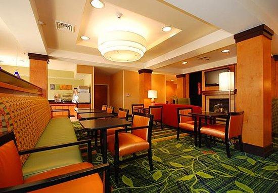 Greenwood, Южная Каролина: Breakfast Sitting Area