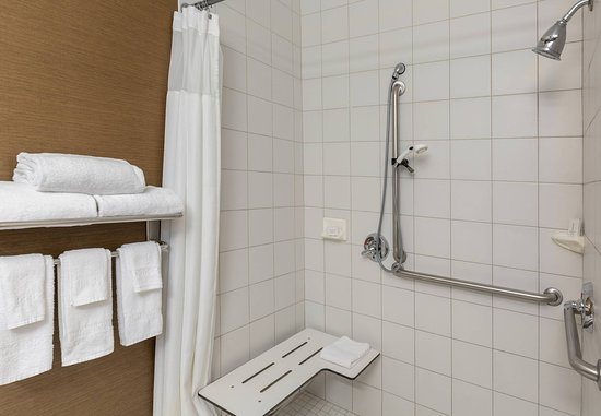 Abilene, TX: Accessible Guest Bathroom - Roll-in Shower