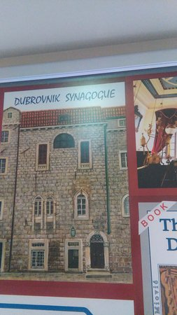 The Synagogue in Old City Dubrovnik 2016