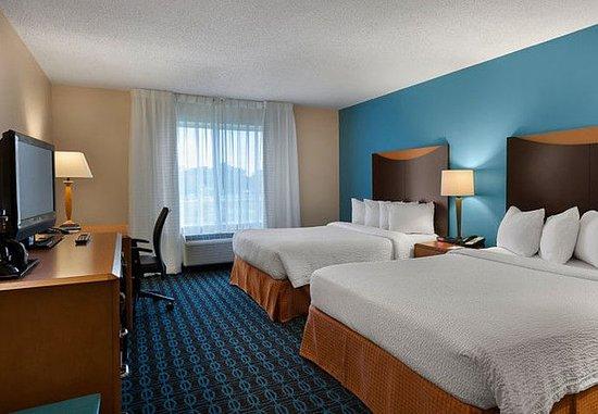 Elizabeth City, Kuzey Carolina: Queen/Queen Guest Room