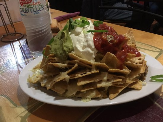 Panhandle Tex Mex Eatery & Bar: this is one Nachos