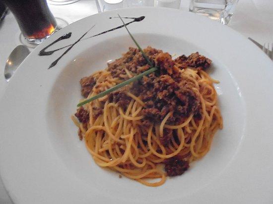 La Fattoria: Spaghetti mit Fleischsoße