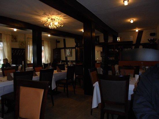 La Fattoria: Restaurant innen
