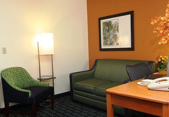 Burnsville, MN: Executive King Suite Living Area