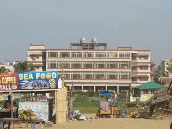 Hotel Leo Castle: View from Sea Beach