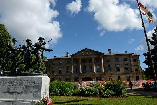 Province House National Historic Site of Canada: Facciata