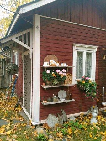 Kouvola, Finlandia: симпатичный дворик