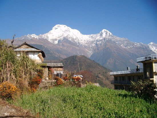 Gandaki Zone, Nepal: what a lovley view form Gandurk