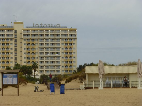 Altura, Portugal: photo taken from hotels private beach